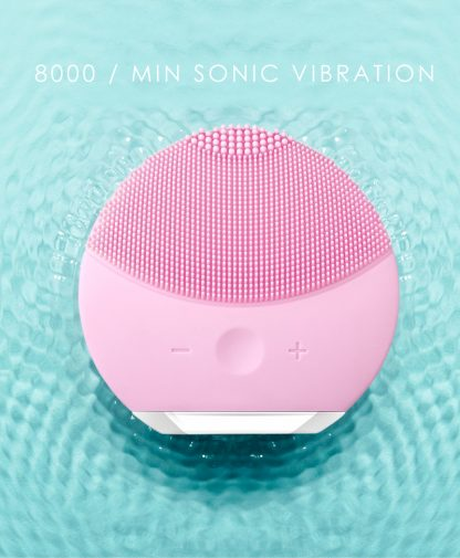 Rechargeable Sonic Facial Cleansing Brush 5