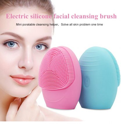 Battery Powered Sonic Facial Cleansing Brush 3
